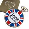 Union Jack Pet ID Tag
