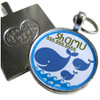 Blue Whale Pet ID Tag