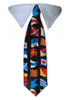 Nautical Flags Tie Collar