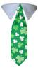 St. Patrick's Shamrock Tie Collar