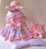 Happy Turtle Harness Dress Set