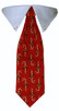 Candy Cane Tie Collar