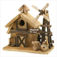 Tractor For Rent Birdhouse