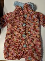 Crocheted Pink Coat