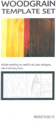 GREX - Airbrush - Template ~ Woodgrain Set