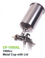 GREX - Spray Gun - X4000 ~ LVLP Top Gravity -  1000mL Aluminum Cup