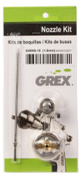 GREX - Spray Gun - X4000 ~ LVLP Top Gravity -  Nozzle Kit - 1.3mm