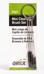 GREX - Airbrush / Cleaning Brush Set (Mini) ~ FAO1