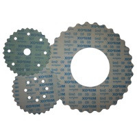 Micro-finishing film is a precision-graded coated abrasive disc made from aluminum oxide material with a 3 mil film backing and hook 'n' loop. Ideal for finishing solid surface materials, molds and gel-coated tops.