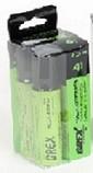 Grex Cordless Fuel Cartridge, 4 Pack