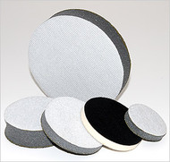 "JCAT - Performance Sanding / Interface Pad - 3"" Round 3/4"" Sponge w/ Velcro Hook & Loop"