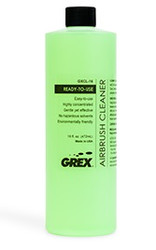 GREX Airbrush Cleaner 8 oz Ready-to-use