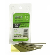 GREX 23 Gauge Headless Pins / Galvanized /  Multi Pac - 3/8  to 1 3/8""