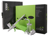 GREX - Airbrush Tritium / 0.5 Needle - Side Gravity - Double Action - Pistol Trigger