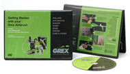 "GREX - Airbrush  / DVD - ""Getting Started"""