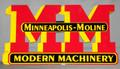 Minneapolis Moline Drop Shadow
