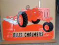 WD45 Allis Chalmers with plow sign