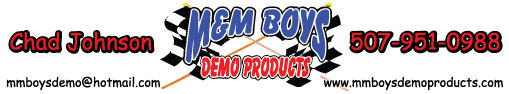 M&M Boys Demo Products