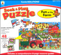 FUN AT THE FARM SEEK & PLAY PUZZLE