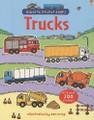 TRUCKS (USBORNE STICKER BOOK)