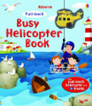BUSY HELICOPTER PULL-BACK BOOK