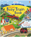 BUSY TRAIN PULL-BACK BOOK (BB)