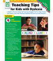 Teaching Tips for kids with Dyslexia (Teacher Parent Resource)