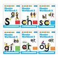 Letterland Phonics Workbooks (1-6)