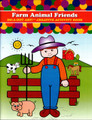 DO A DOT ART! Creative Activity Book Farm Animal Friends