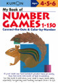 Kumon My Book of Number Games 1-150