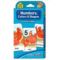 Numbers, Colors and Shapes Puzzle Cards