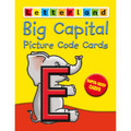 LETTERLAND BIG CAPITAL PICTURE CODE CARDS