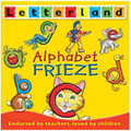 LETTERLAND ALPHABET FRIEZE