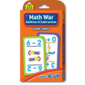 Math War Addition & Subtraction Game Cards