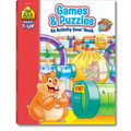 Games & Puzzles Deluxe Edition Activity Zone Workbook