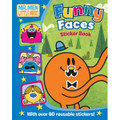 The Mr. Men Show Funny Faces Sticker Book (Paperback)