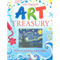 The Usborne Art Treasury (Hardcover)