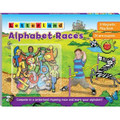 Letterland Alphabet Races (Magnetic Play Book) (Hardcover)