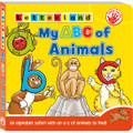 Letterland My ABC of Animals (Board Book)