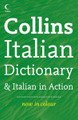 Collins Italian Dictionary & Italian in Action (Paperback)