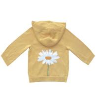 organic cotton/bamboo daisy hoodie