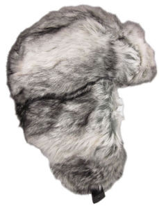 9c249286694c8 Dakota Dan Faux Silver Fox Fur Winter Trapper Hat Fur Ski Cap Bomber Hat  Trooper