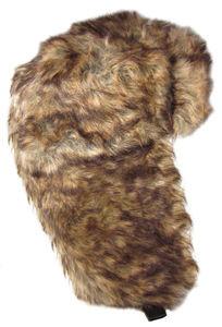 Dakota Dan Faux Rabbit Fur Trapper Trooper Bomber Hat or Ski Hat All Fur Hat