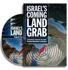 Israel's Coming Land Grab CD