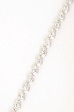 Classic Diamond Tennis Bracelet.