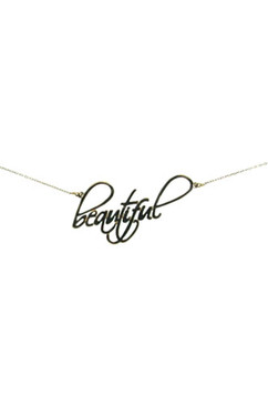 Beautiful Indeed!  Sterling Silver Necklace. 18 Inches.