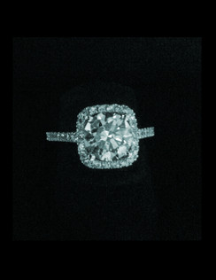 The Eva Marie Ring, as Esther Gallant custom made it for her.  Let Esther custom make one for you, starting at $6900.