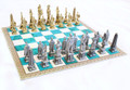 24kt gold Chess Set