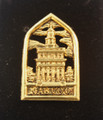 24 Kt. gold plate Nauvoo Temple pin