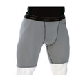 Smitty #415 Grey Compression Shorts w/Cup Pocket
